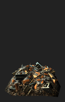 Modular Rubble 04 - 1051 Triangles, 1x2048&sup2; Diffuse, Normal, Specular and Gloss<br/>Modular Rubble 05 - 1892 Triangles, 1x2048&sup2; Diffuse, Normal, Specular and Gloss<br/>Modular Rubble 06 - 1470 Triangles, 1x2048&sup2; Diffuse, Normal, Specular and Gloss