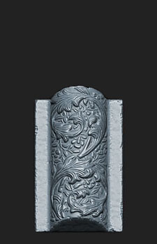 HP Zbrush sculpt of the Vaulted Bricks for my Jacobethan Style Fountain asset.